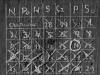Kalendarz wyryty na ścianie celi w celi izolacyjnej nr 9 , fot.  Dokumentacja konserwatorska PKZ, 1966