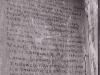 cela 7 ściana z fragmentem zachowanym napisem wykonanym przez więźnia , fot.  Dokumentacja konserwatorska PKZ, 1966