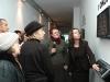 Uroczystość otwarcia nowej ekspozycji w Mauzoleum Walki i Męczeństwa. Na pierwszym planie autorki projektu plastycznego Żaneta Govenlock, Violetta Damięcka. 07.12.2007. fot. T. Stani