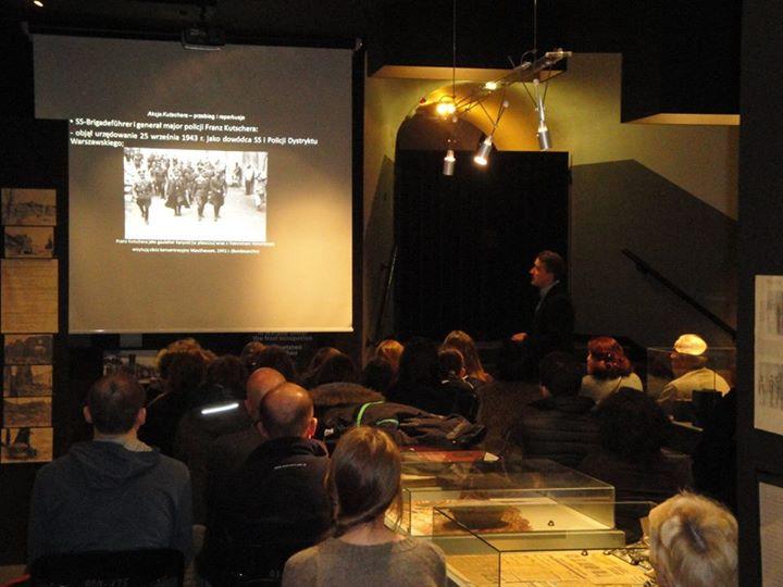 Prelekcja o Akcji na Kutscherę